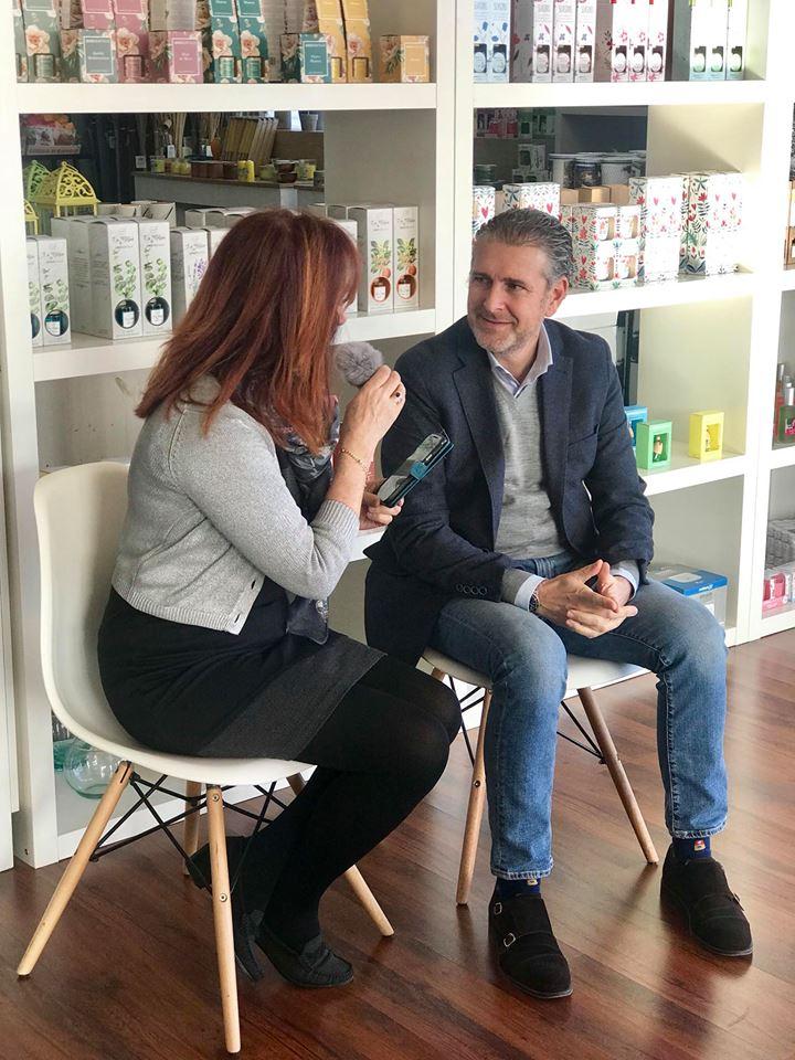 Visita de la Plataforma de Voluntariado Social de Segovia