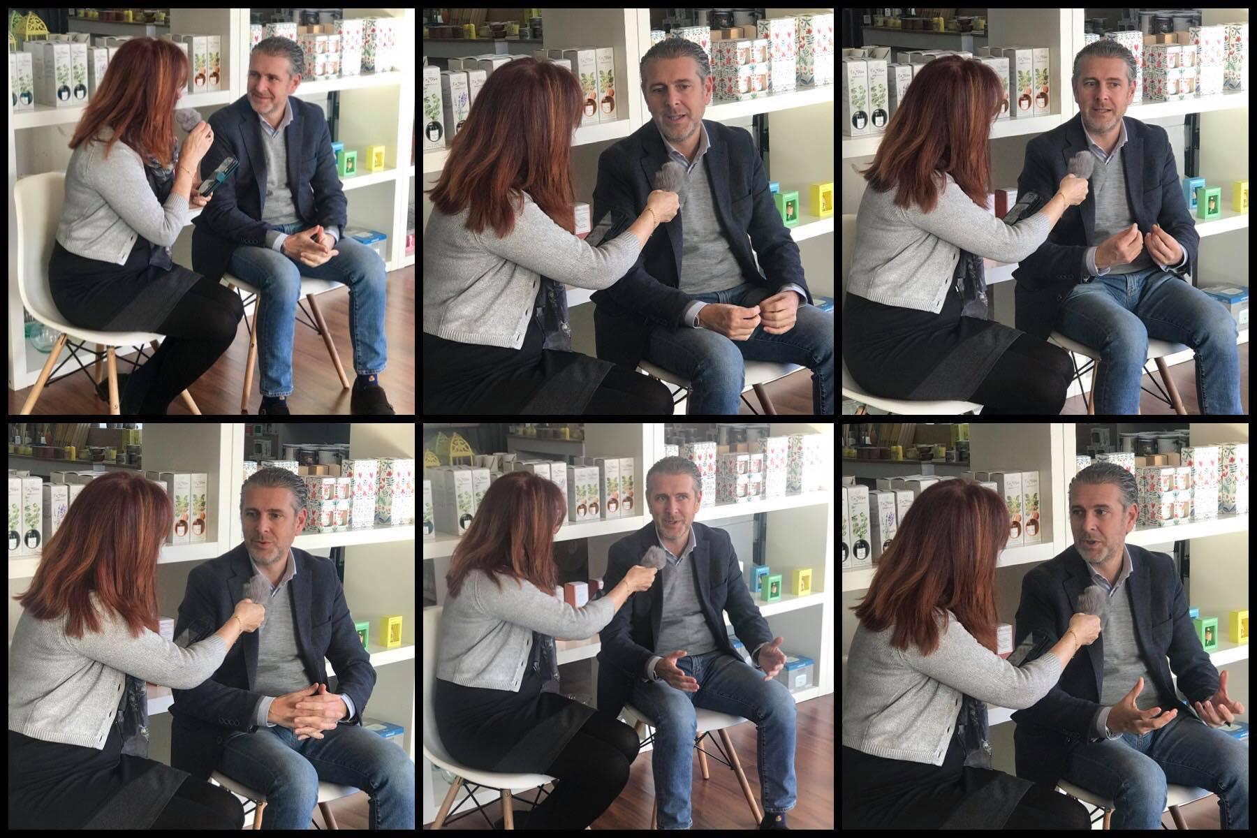 Plataforma de Voluntariado Social de Segovia entrevista a Andrés Ortega