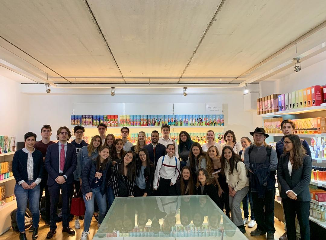 Ambientair recibe a los estudiantes de la I.E.
